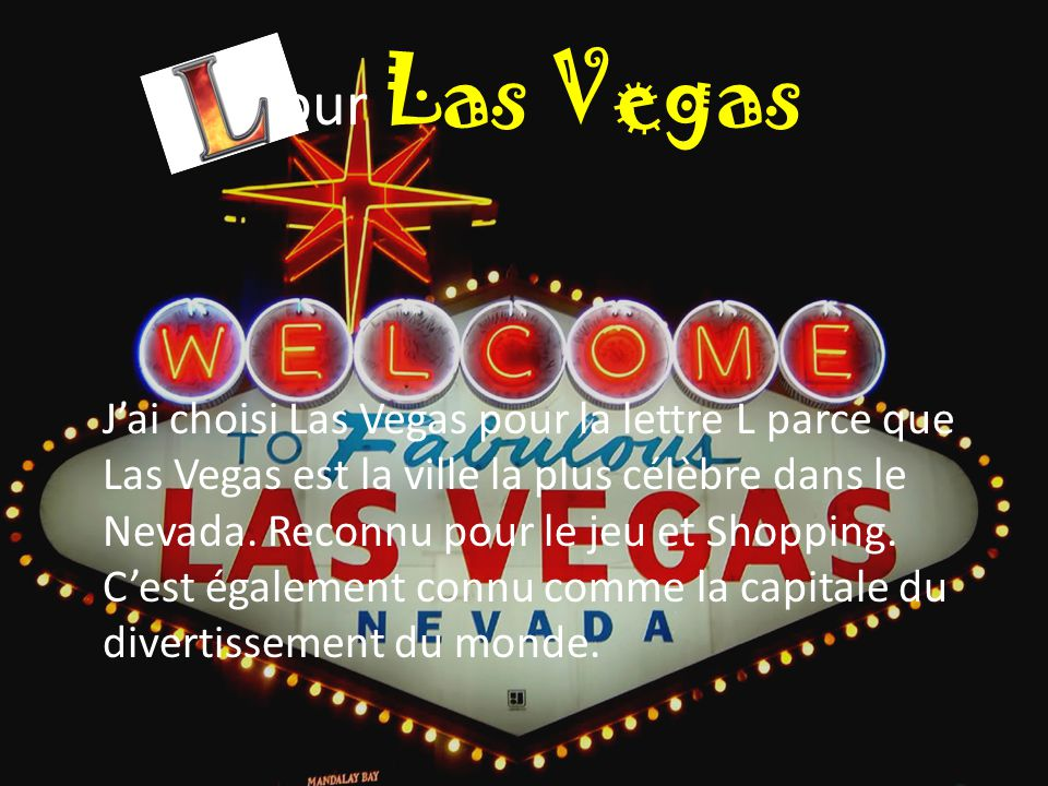 pour Las Vegas