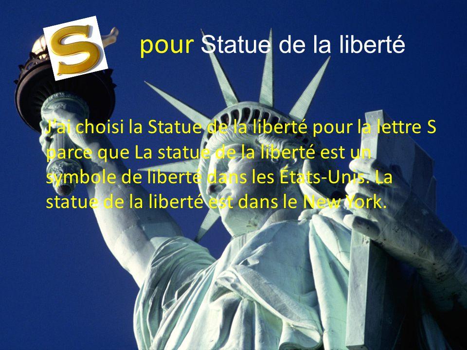 pour Statue de la liberté