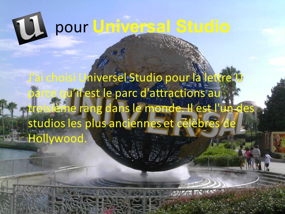 pour Universal Studio