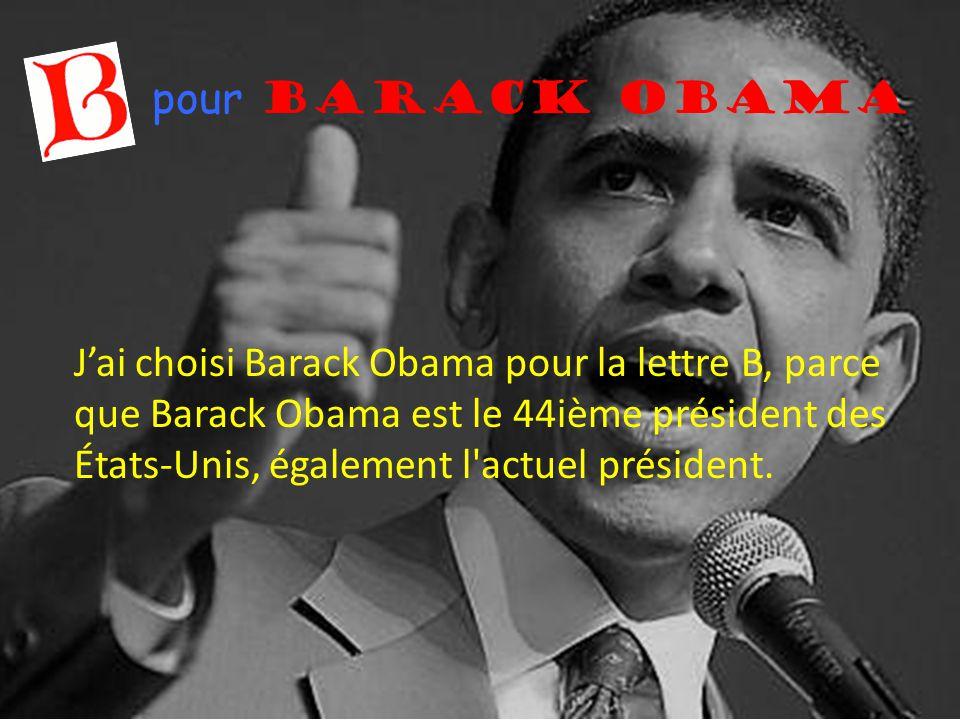 pour Barack Obama