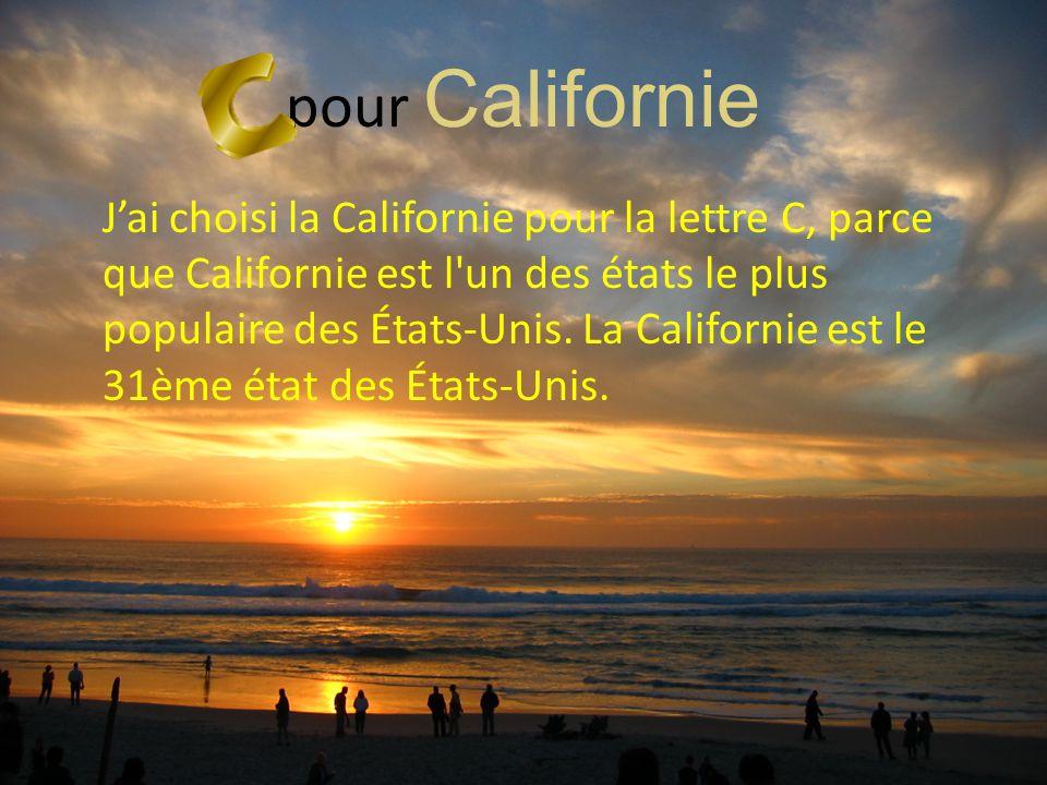 pour Californie