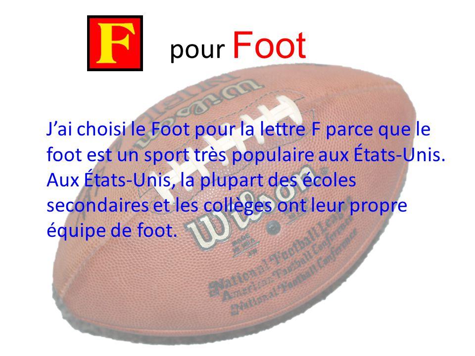 pour Foot