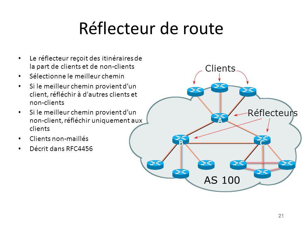 Réflecteur de route AS 100 Clients Réflecteurs
