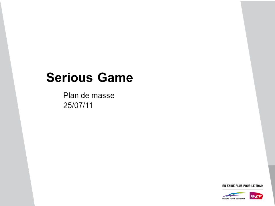 Serious Game Plan de masse 25/07/11