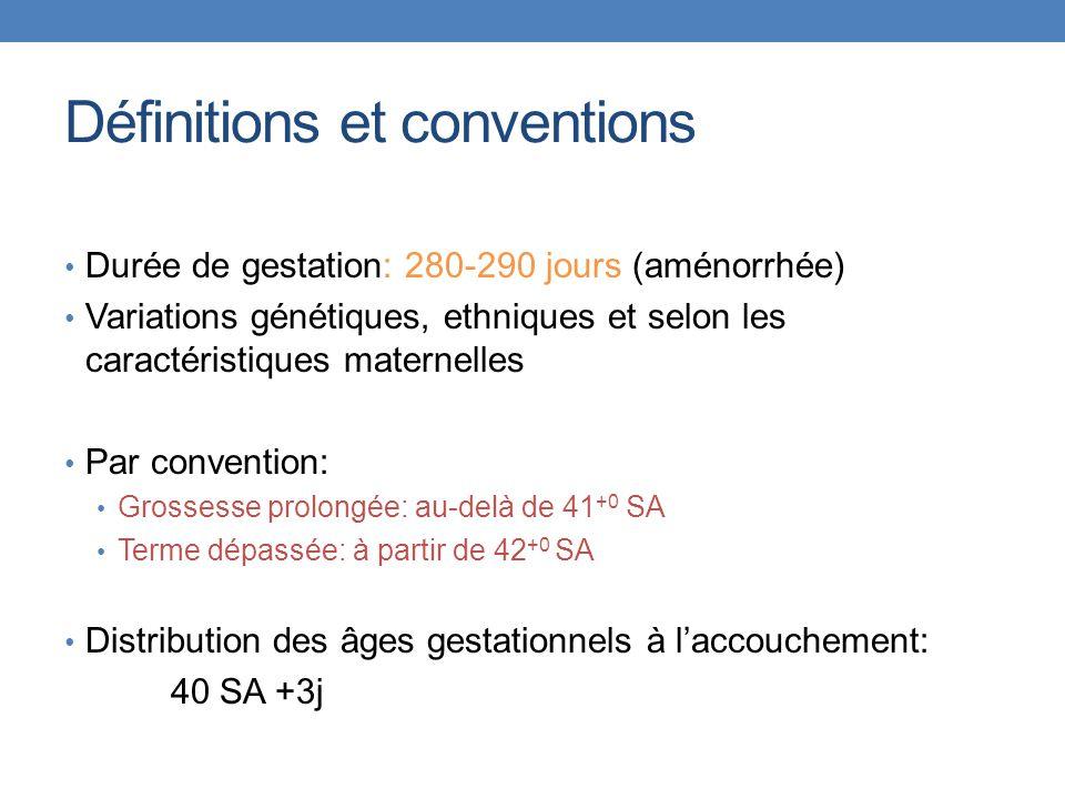 Définitions et conventions
