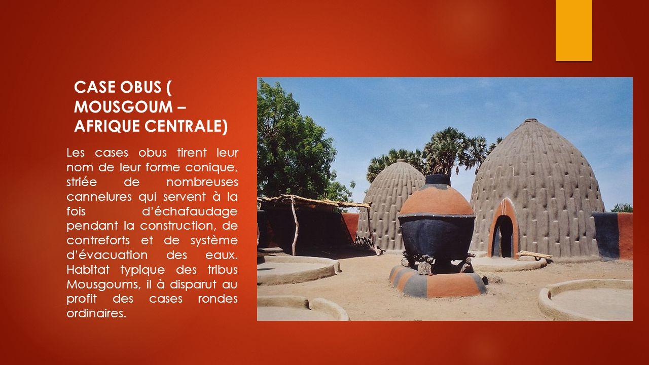 CASE OBUS ( MOUSGOUM – AFRIQUE CENTRALE)