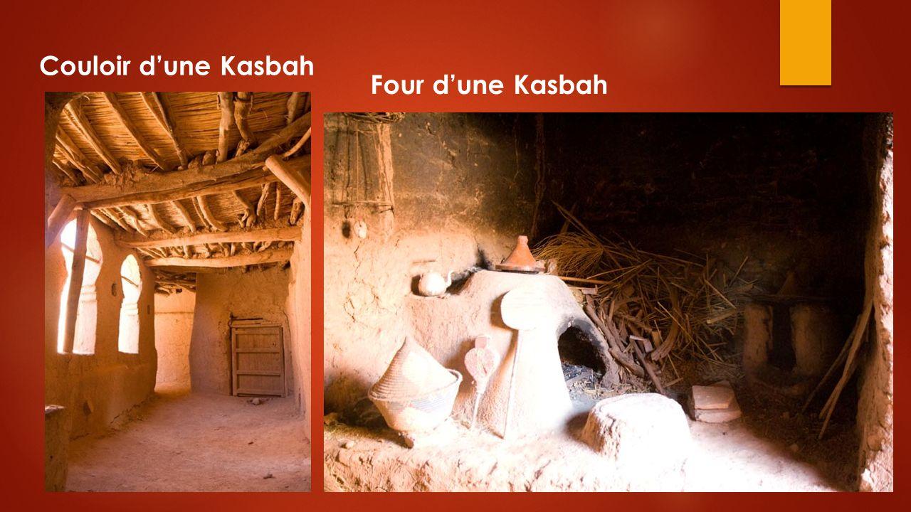 Couloir d'une Kasbah Four d'une Kasbah