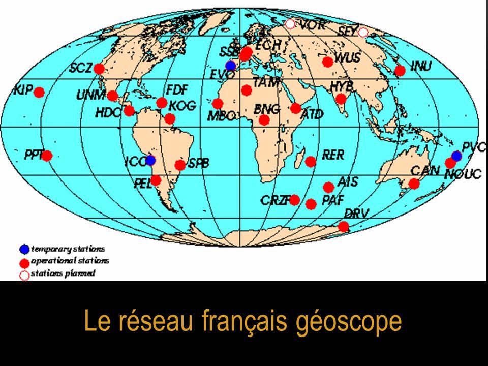 Le réseau français géoscope