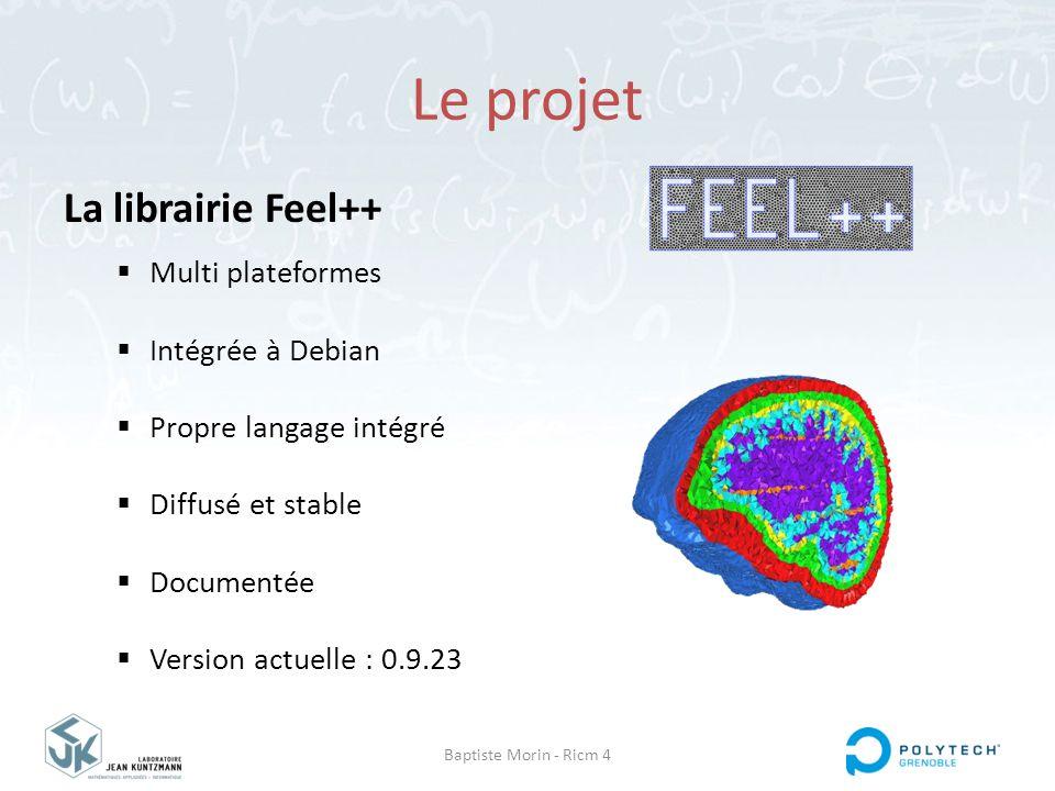 Le projet La librairie Feel++ Multi plateformes Intégrée à Debian