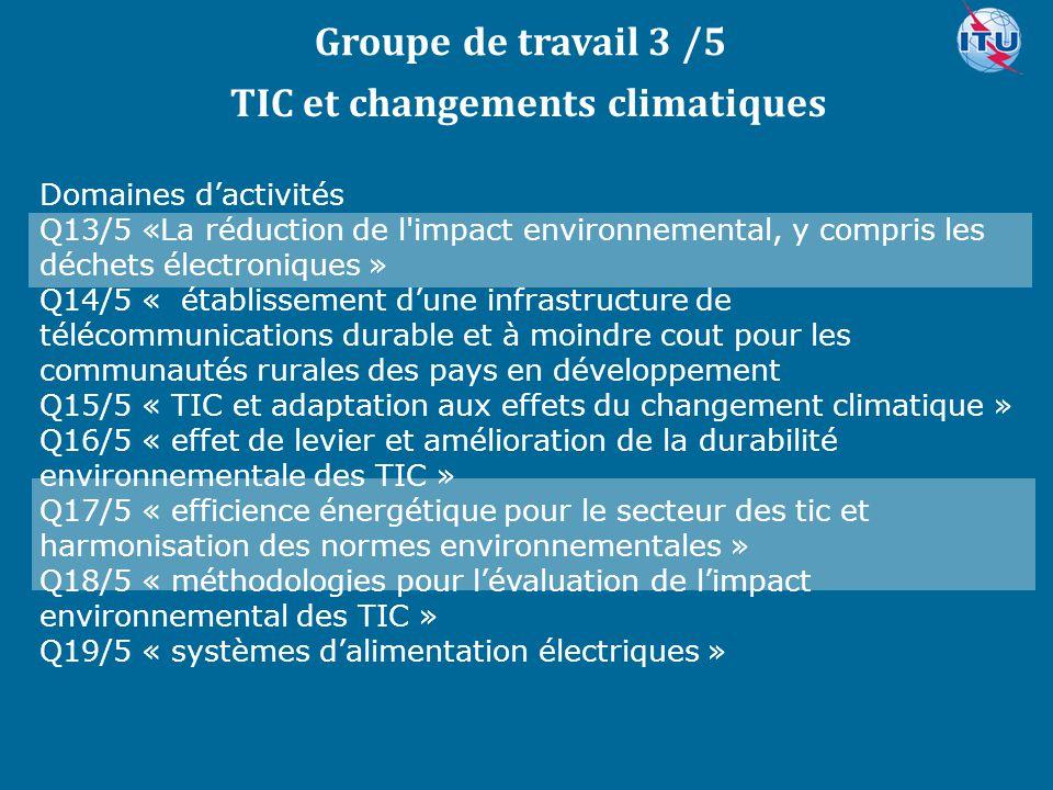 TIC et changements climatiques