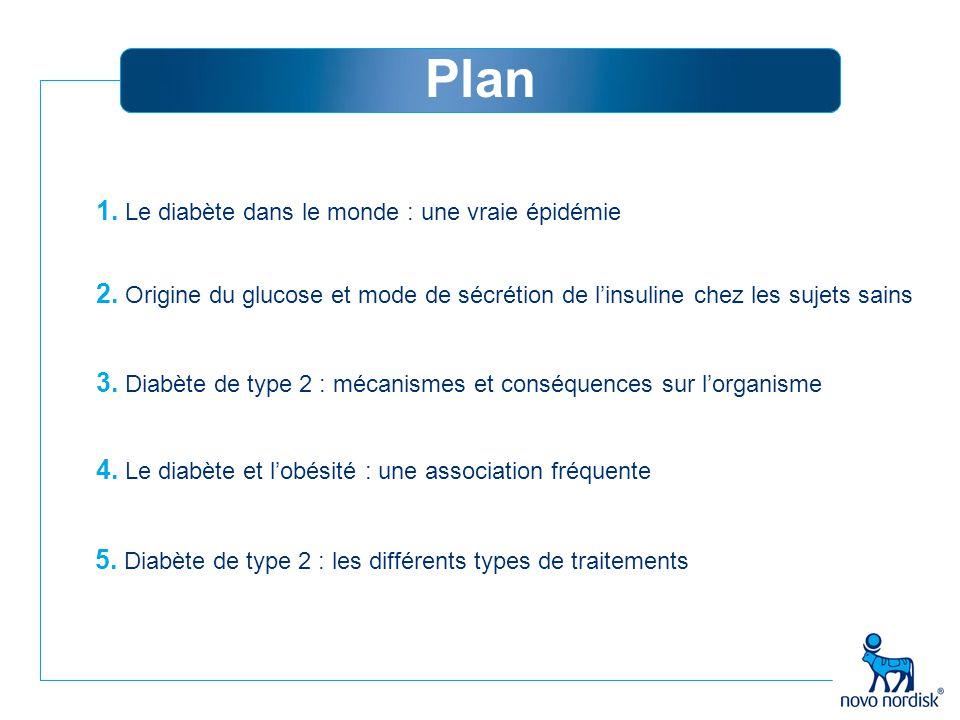 Plan 1. Le diabète dans le monde : une vraie épidémie