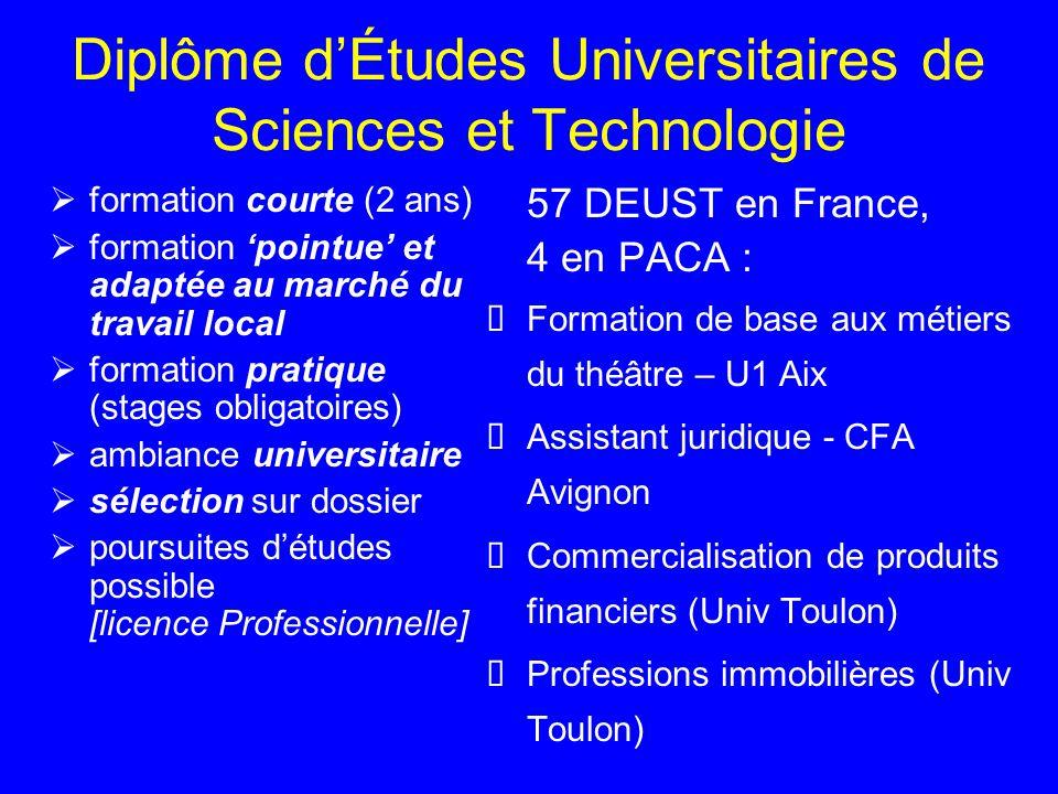 Diplôme d'Études Universitaires de Sciences et Technologie