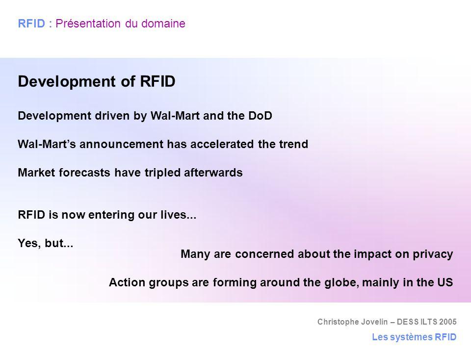RFID : Présentation du domaine