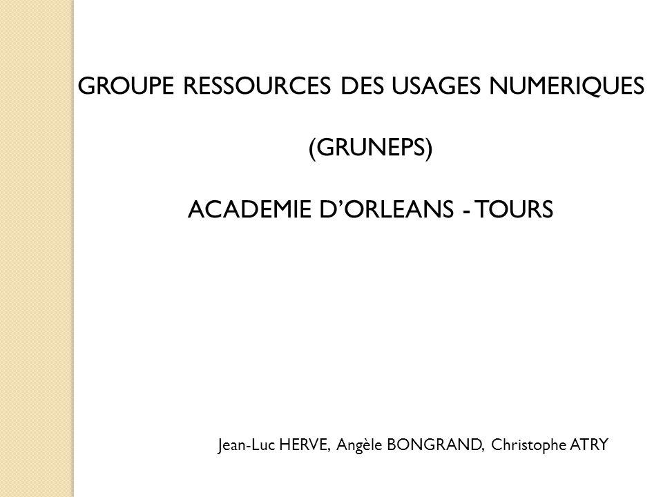 ACADEMIE D'ORLEANS - TOURS