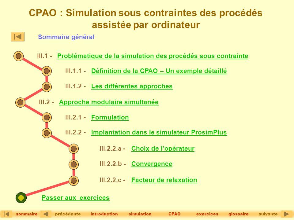 CPAO : Simulation sous contraintes des procédés assistée par ordinateur