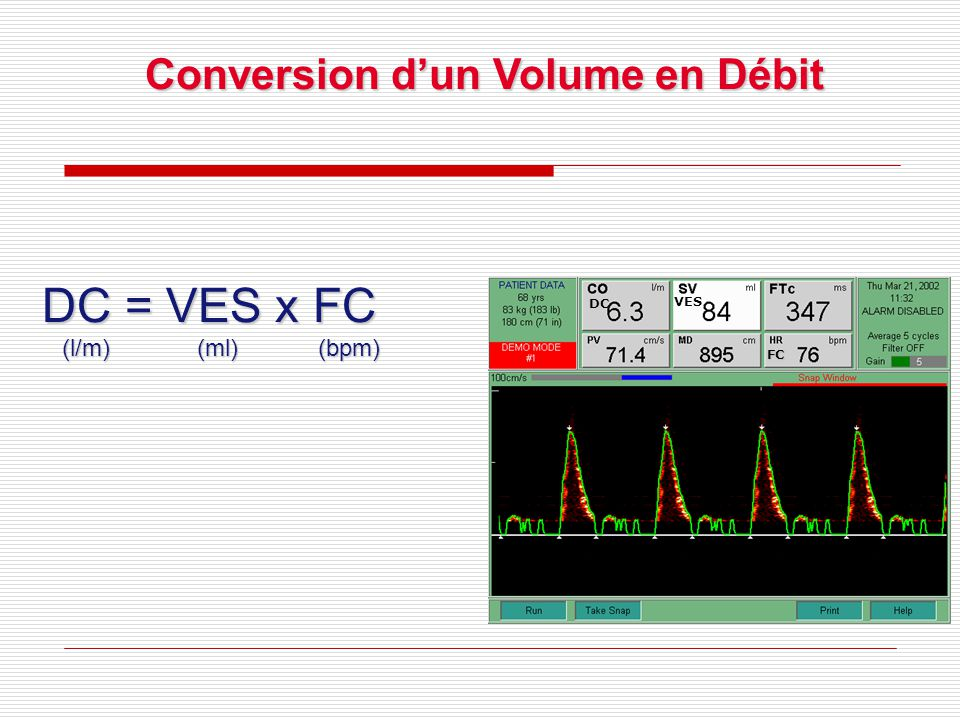 Conversion d'un Volume en Débit