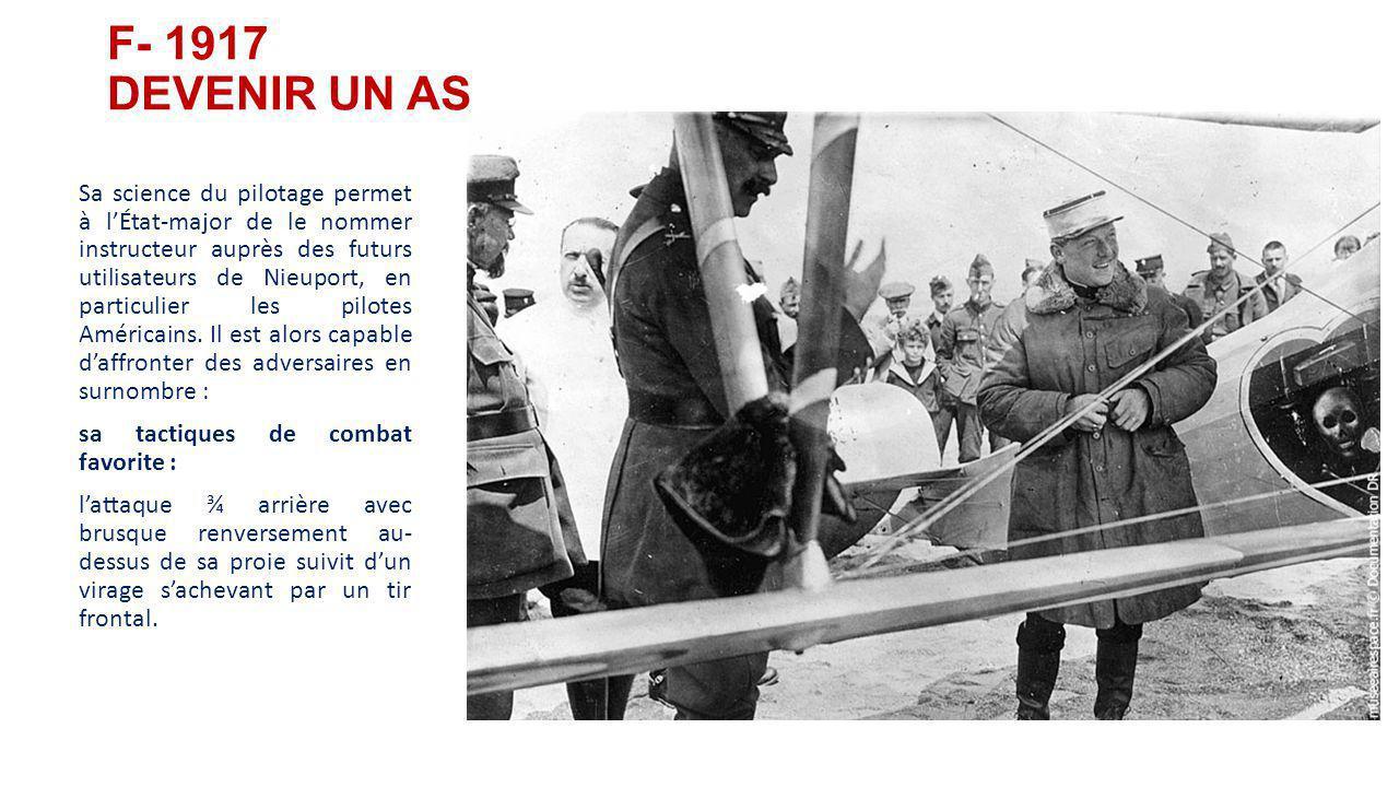F- 1917 DEVENIR UN AS