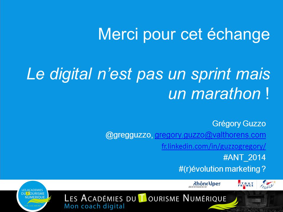 Merci pour cet échange Le digital n'est pas un sprint mais un marathon !