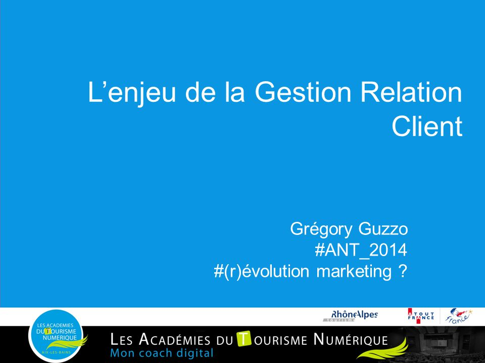 L'enjeu de la Gestion Relation Client