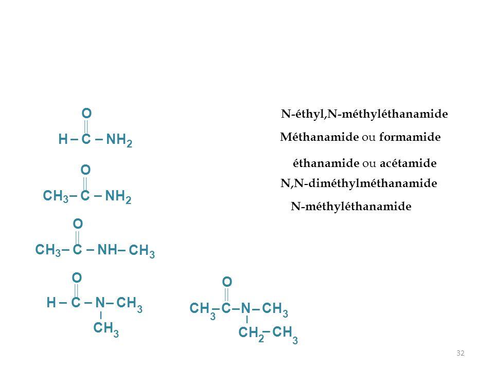 N-éthyl,N-méthyléthanamide N,N-diméthylméthanamide