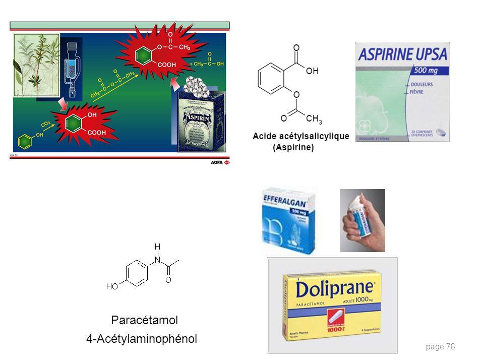 Paracétamol 4-Acétylaminophénol