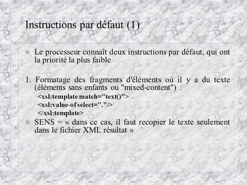 Instructions par défaut (1)