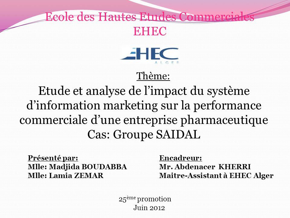 Ecole des Hautes Etudes Commerciales EHEC