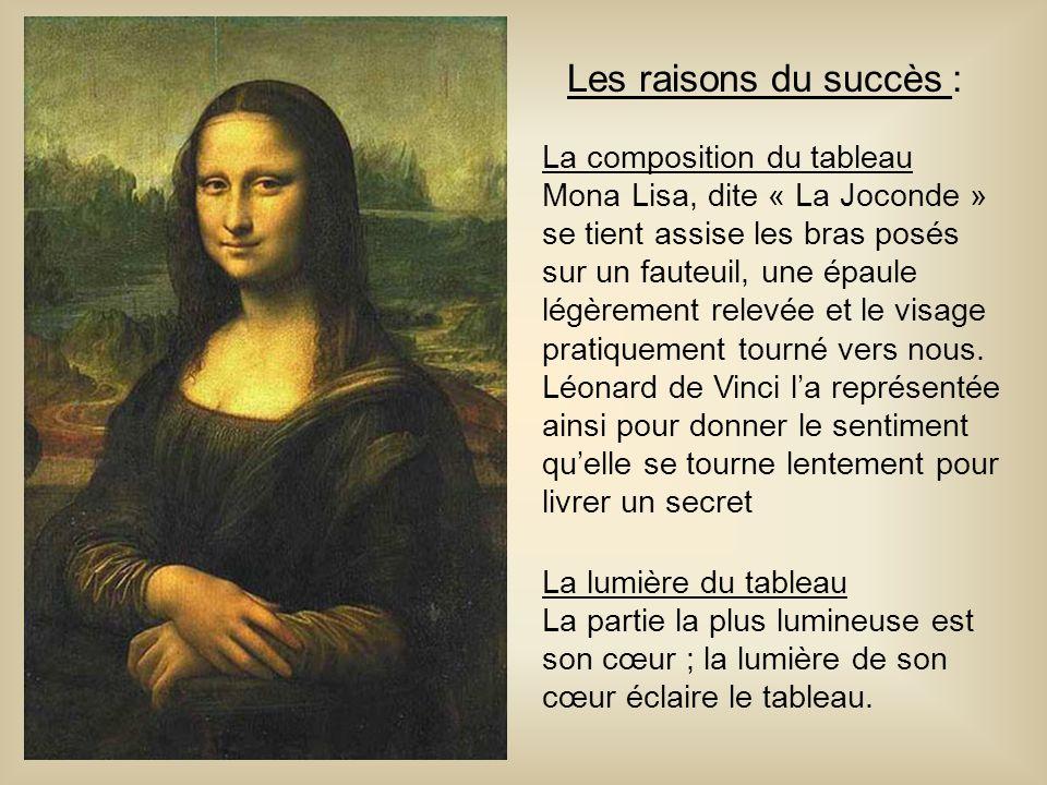 Les raisons du succès : La composition du tableau