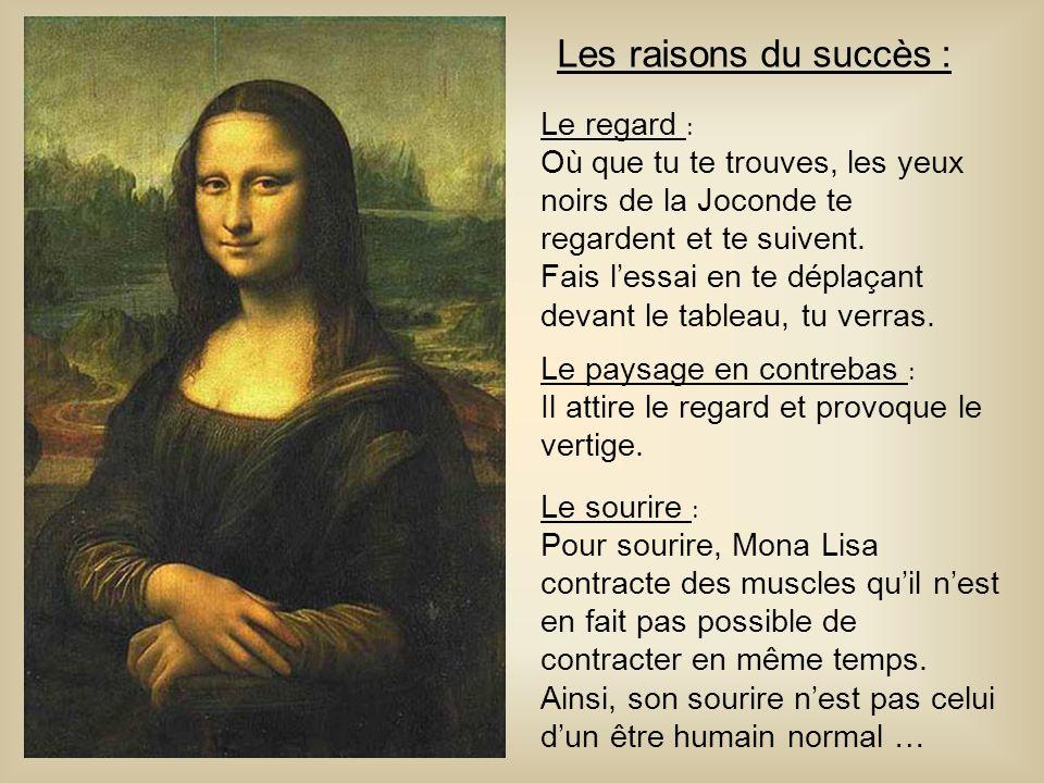 Les raisons du succès : Le regard :