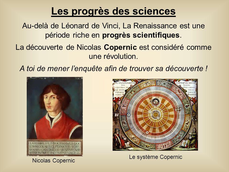 Les progrès des sciences