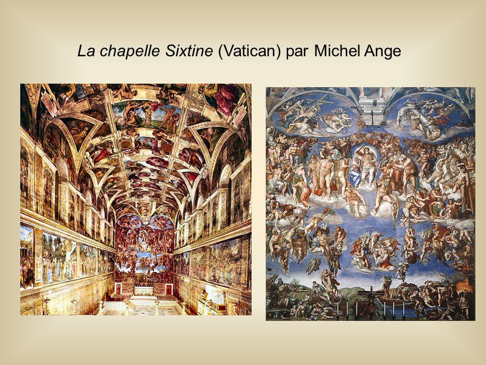 La chapelle Sixtine (Vatican) par Michel Ange