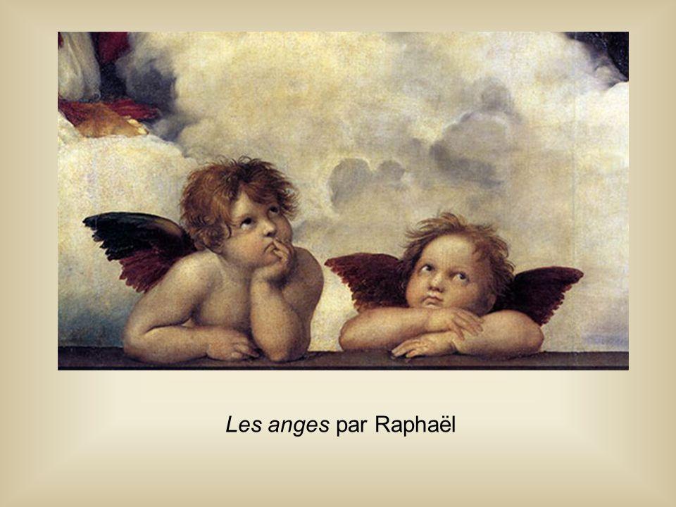 Les anges par Raphaël