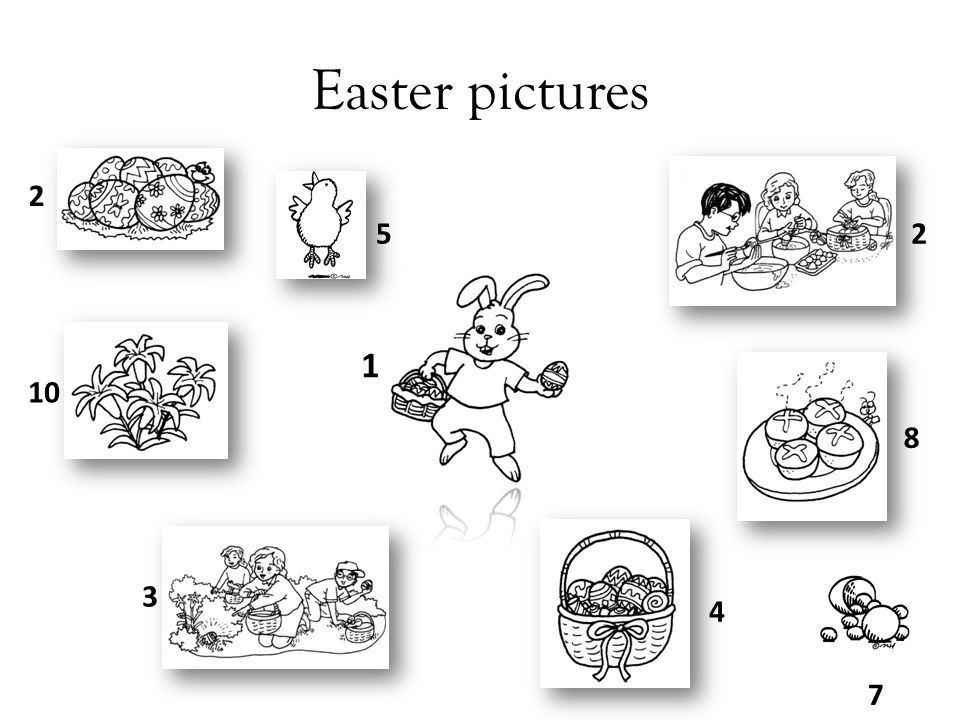 Easter pictures 2 5 2 1 10 8 3 4 7
