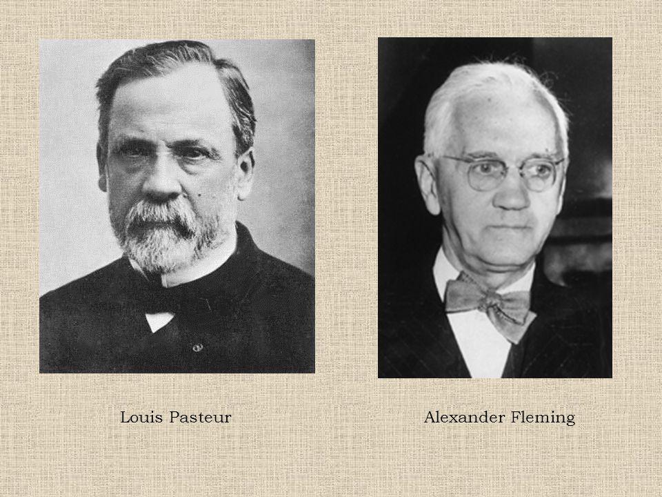 Louis Pasteur Alexander Fleming