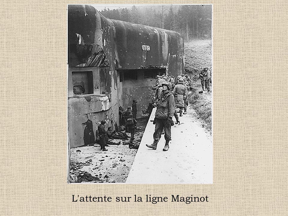 L attente sur la ligne Maginot