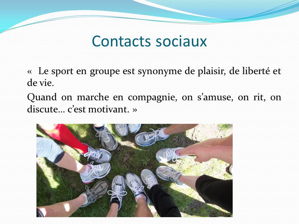 Contacts sociaux