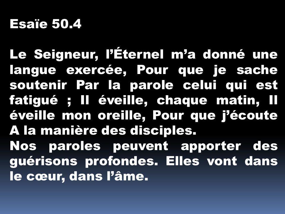 Esaïe 50.4