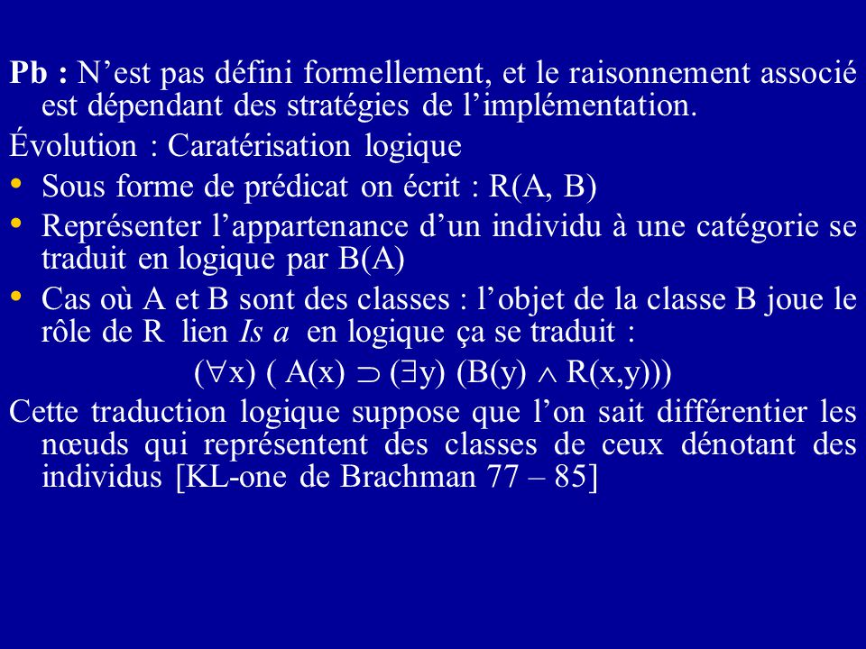 (x) ( A(x)  (y) (B(y)  R(x,y)))