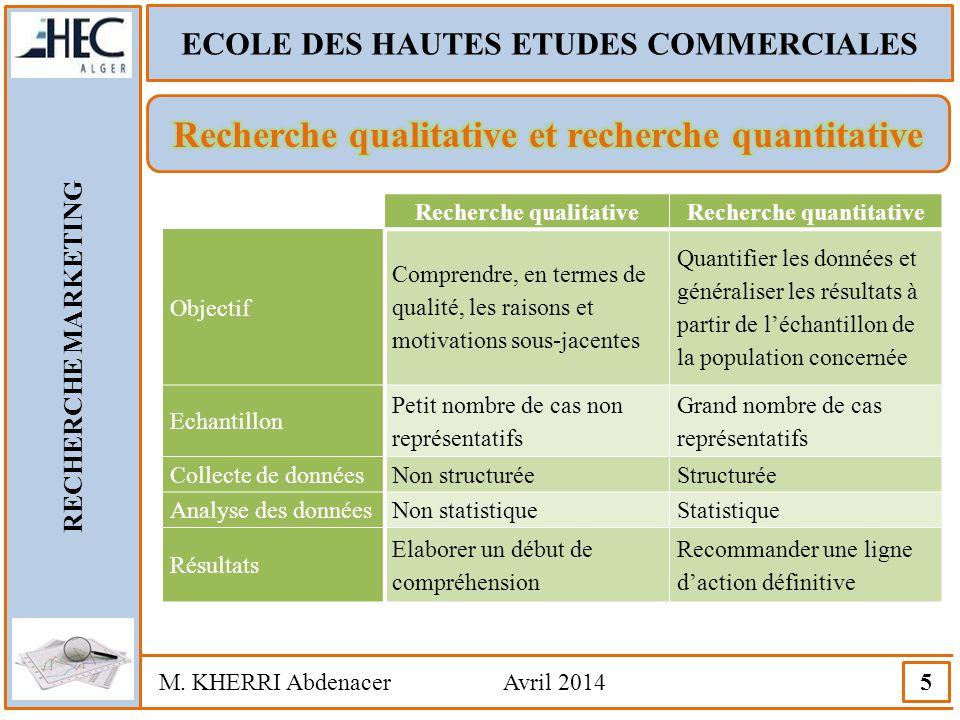 Recherche qualitative et recherche quantitative