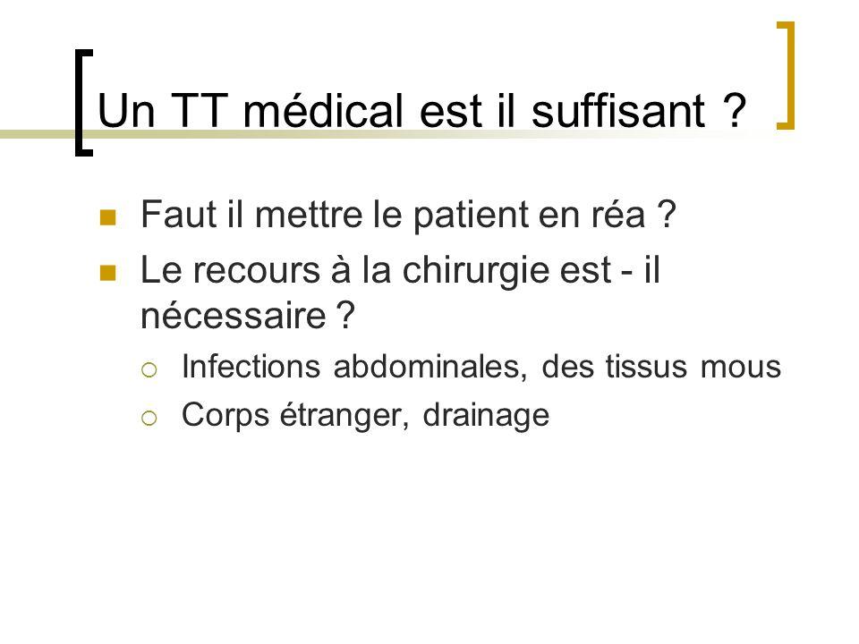 Un TT médical est il suffisant