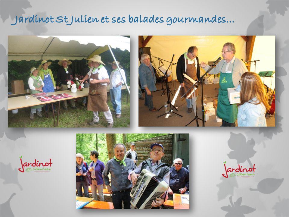 Jardinot St Julien et ses balades gourmandes…