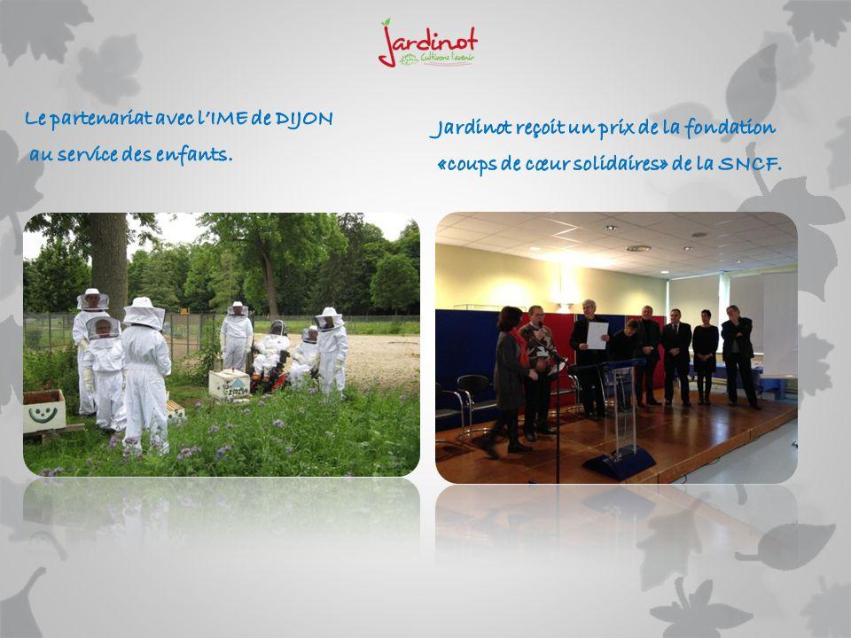 Le partenariat avec l'IME de DIJON
