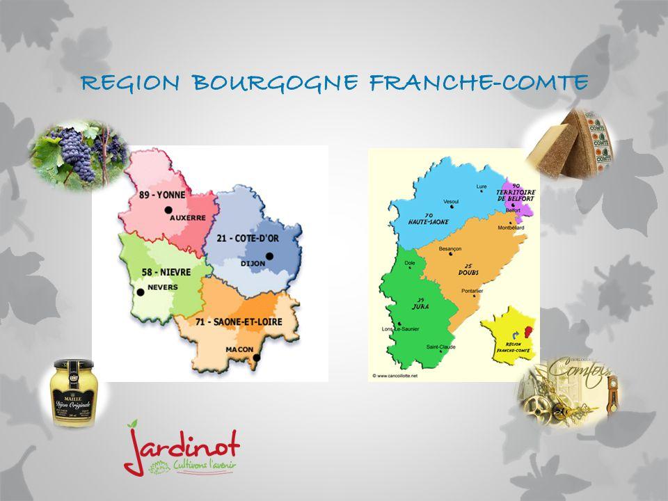 REGION BOURGOGNE FRANCHE-COMTE