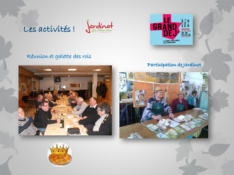 Participation de Jardinot