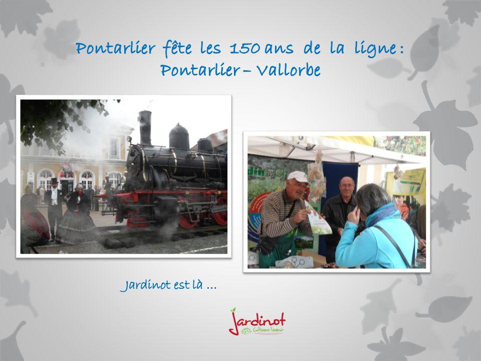Pontarlier fête les 150 ans de la ligne : Pontarlier – Vallorbe