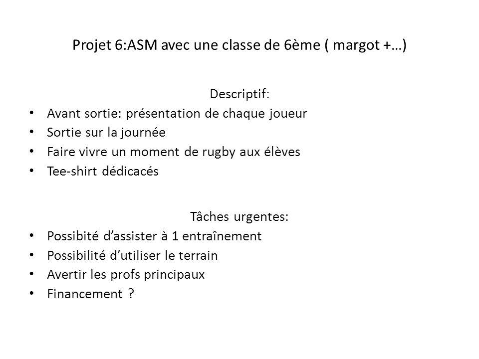 Projet 6:ASM avec une classe de 6ème ( margot +…)