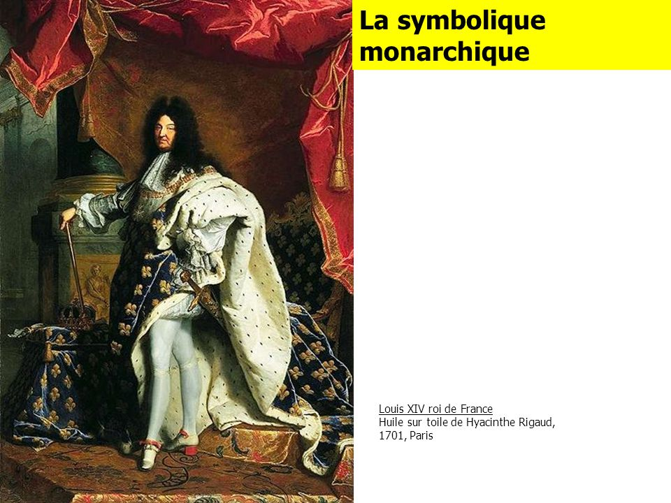 La symbolique monarchique