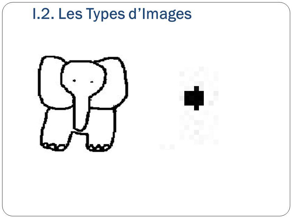 I.2. Les Types d'Images