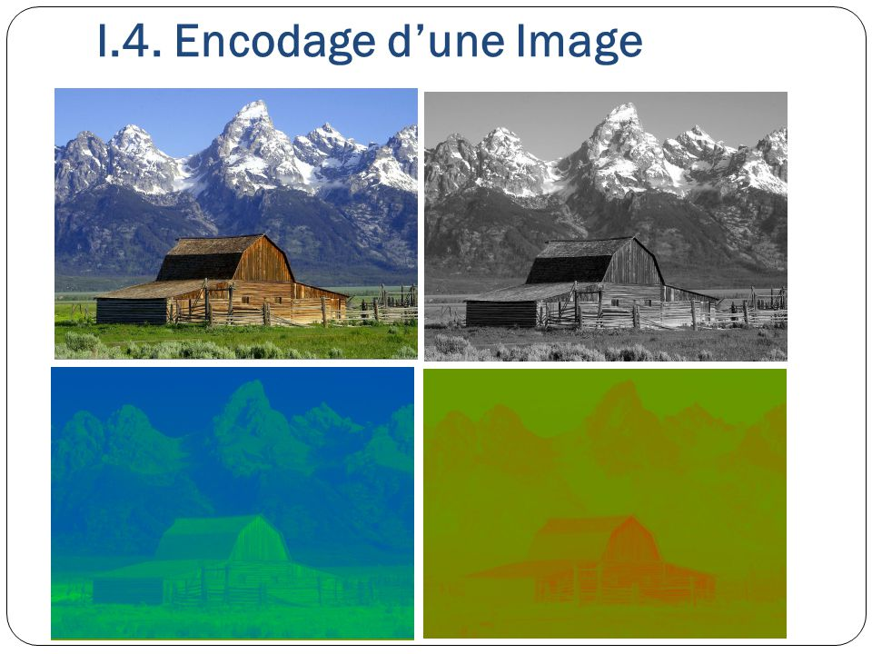 I.4. Encodage d'une Image