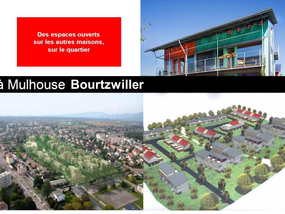 Bourtzwiller Fribourg « Sonnenschiff » Des espaces ouverts